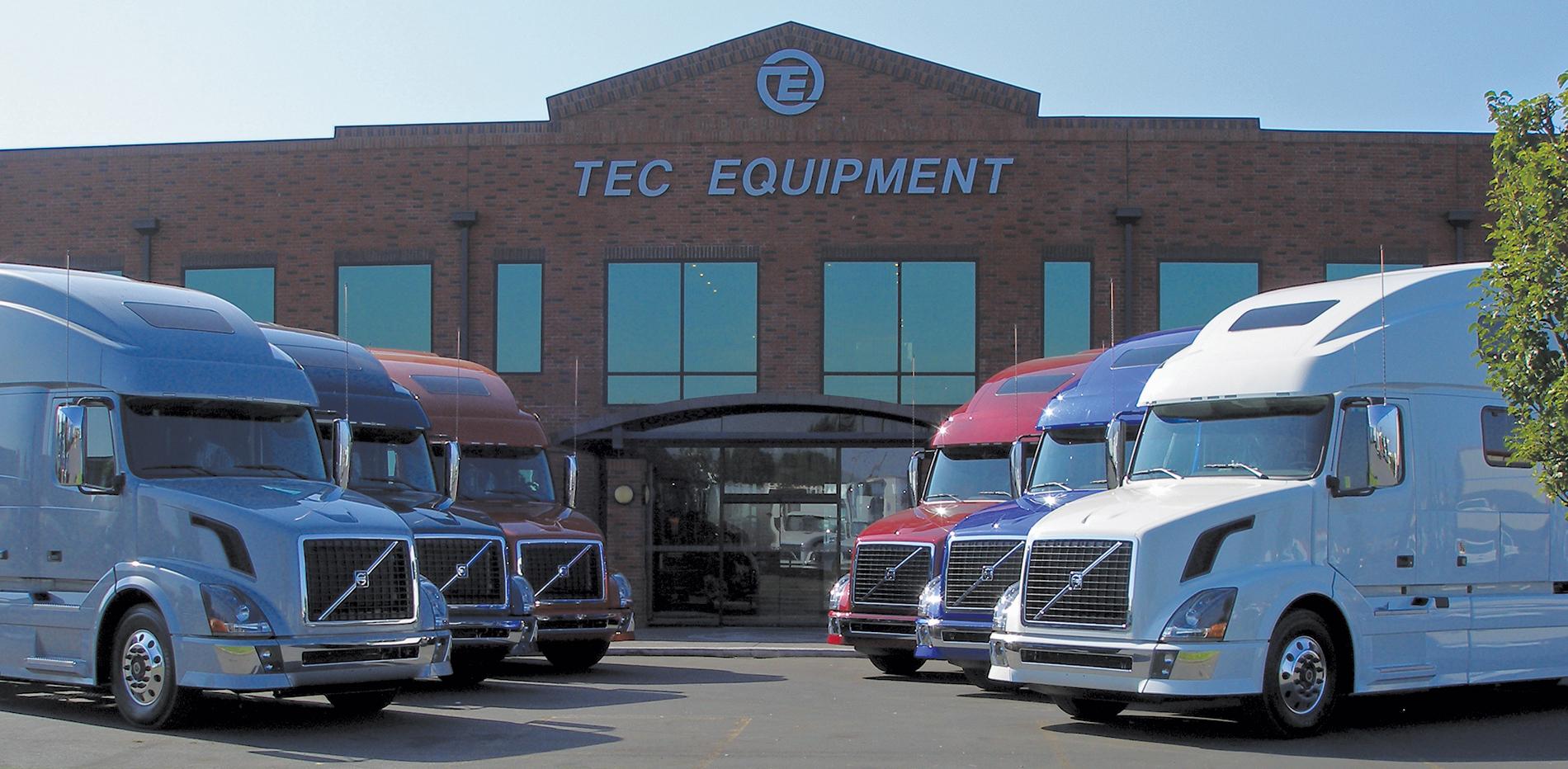 TEC Equipment Portland, OR > Full Service Truck & Trailer ...